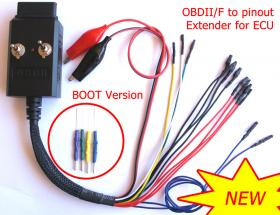 OBDII / F to pinout Extender for ECU with BOOT