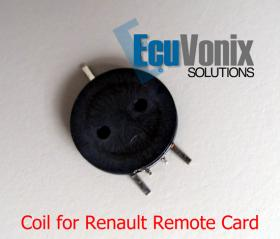 1x Fixed Inductors for Renault Remote Card