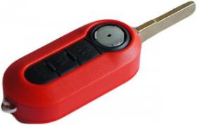 Key Shell 3 Button Flip SIP22 - RED