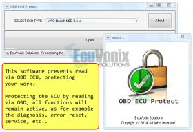 OBD ECU Protect 1.3 + VAG SIMOS PCR2.1 Unlocked