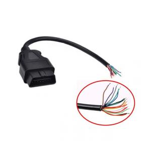 OBDII-16 wire M - 1mt