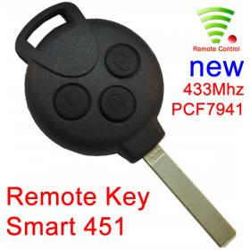 Remote - for Smart 451 - PCF7941 433MHZ