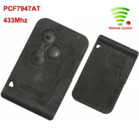 Remote - 3 Buttons - for MEGANE/SCENIC - PCF7947AT