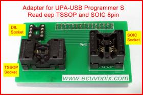 Adapter read EEP TSSOP and SOIC 8pin